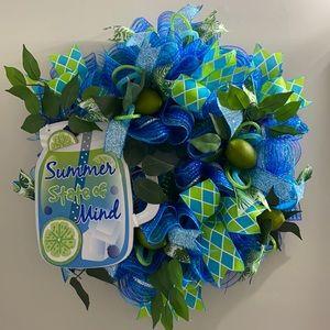 Summer state of mind wreath